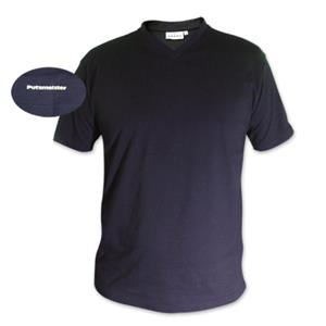 V-Neck T-Shirt in Tinte