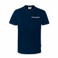 V-Neck T-Shirt in Tinte